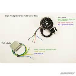 3 quot bullet tachometer black 1 quot cl by baron custom accessories