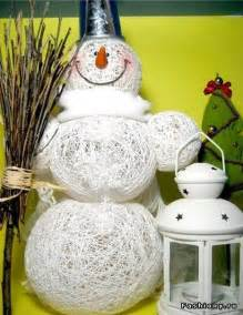 Christmas Themed Arts And Crafts - 30 creative and fun diy snowman decorations