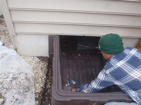 Home Insulation Services   Crawl Space Access Door Install