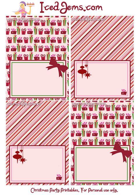 printable christmas tags for food free christmas party printables