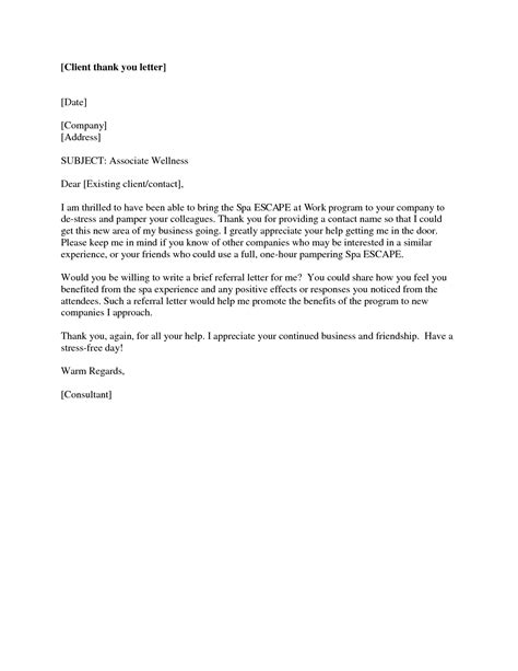 thank you letter to the client best photos of exles of client letters lawyer client