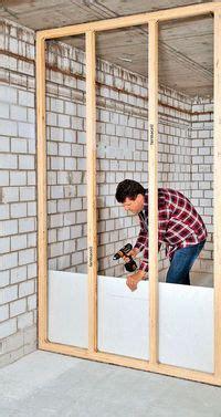 Trockenbauwand Aus Holz by Trennwand Aus Holz Bauen Renovieren