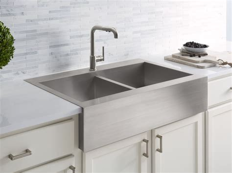 large farmhouse sink standard plumbing supply product kohler k 3944 1 na