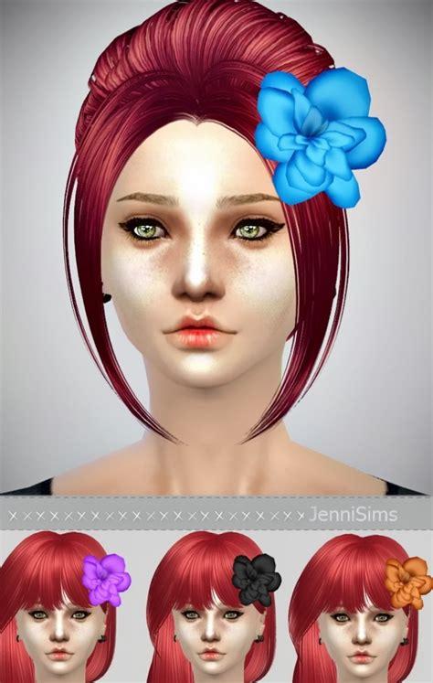 bow eye hair accessory at jenni sims 187 sims 4 updates flower hair accessories at jenni sims 187 sims 4 updates