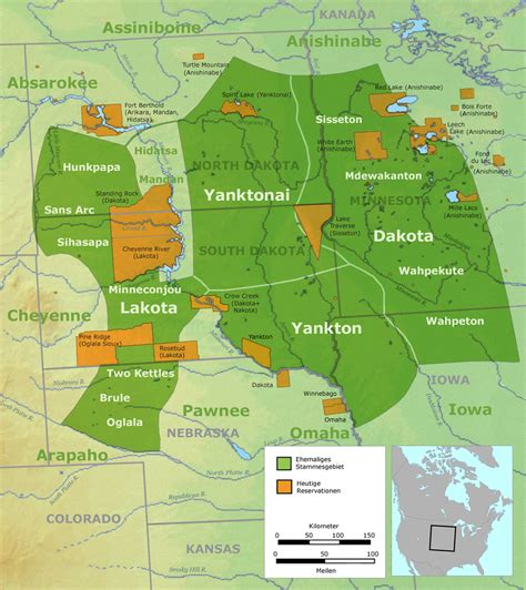 american reservations map standing rock indian reservation