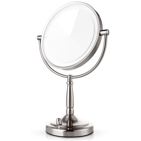 lighted makeup mirror in 5 best lighted makeup mirrors 2018 top picks and reviews