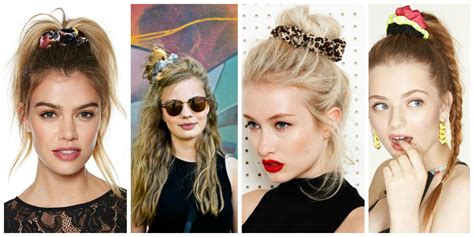 Wears A Scrunchie by The Scrunchie Is Back The Fashion Tag