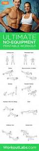 workout plan for no equipment workout and workout