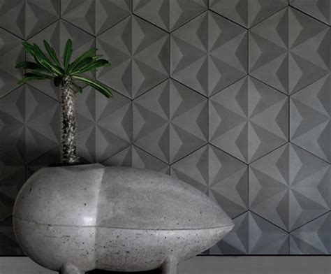 modern concrete tiles by daniel ogassian