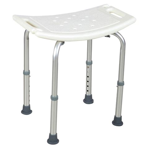 tub stool or bench adjustable 6 height medical bath tub shower chair bench