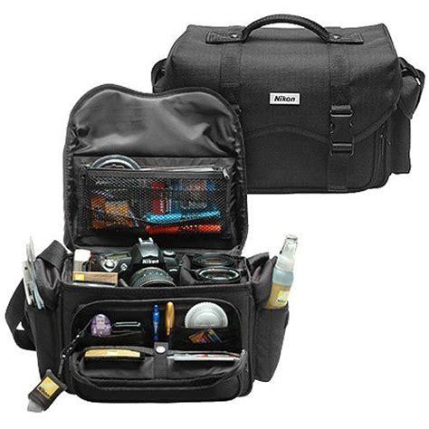 nikon 5874 deluxe digital slr gadget bag by nikon 29 95 protect your valuable