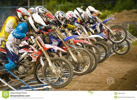 local motocross races motocross start editorial photo image 26814346