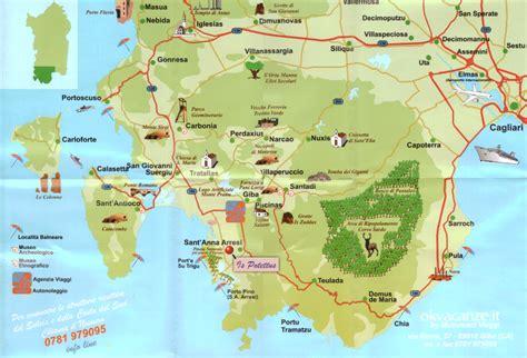 porto pino mappa dove siamo