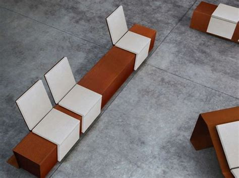 corten bench cor ten bench cortomadere cortomadere collection by