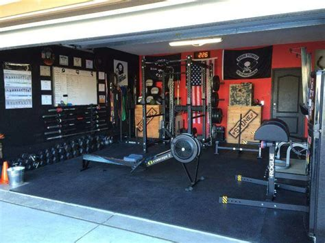 home gym design uk awesome rogue garage gym courtesy andre castro nerdy