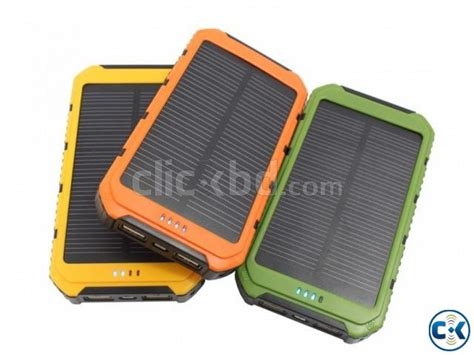 Power Bank Solar System solar power bank 20000mah clickbd