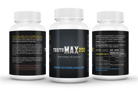 Suplemen Testosteron testomax 200 enhancement pills testosterone booster