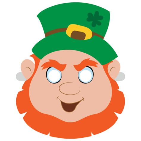 leprechaun mask template leprechaun crafts and templates www imagenesmi