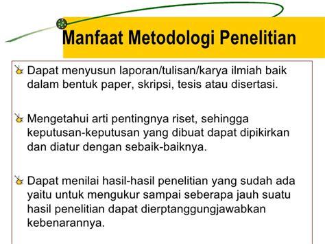 Metodologi Penelitian Skripsi Tesis Dan Disertasi materi kuliah metodologi penelitian 2