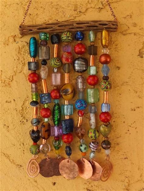 glass bead wind chimes 23 brilliant marvelous diy wind chimes ideas diy to make