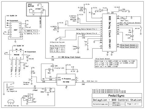 mxr delay pedal schematic mxr pedals guitar elsavadorla
