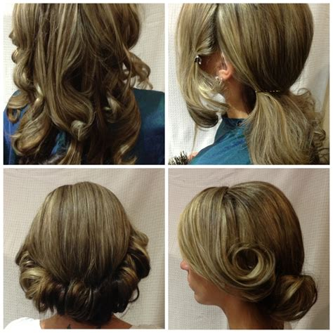 Do It Yourself Wedding Hairstyles For Medium Hair by Step By Step By Christine Frank Do It Yourself Updos