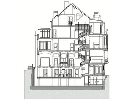 2 Story House Floor Plans victor horta