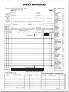 Trucking Trip Sheet Templates by Inspection Log Sheets
