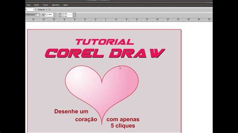 tutorial corel draw youtube aprenda desenhar um lindo cora 199 195 o tutorial corel draw