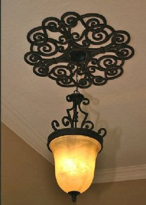 Wrought Iron Ceiling Medallions by 17 Best Images About Wrought Iron Medallions On