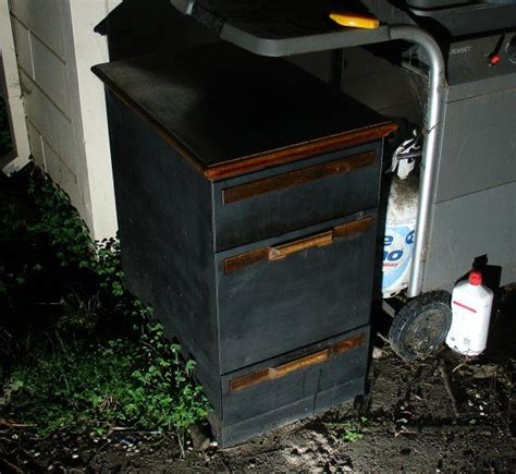 filing cabinet smoker 11 steps with pictures