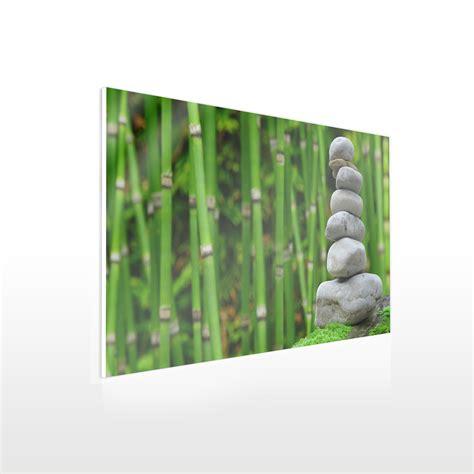 Acrylglas Fotodruck by Fotodruck Auf Acrylglas Beispiel Bambus Werbeschild 24