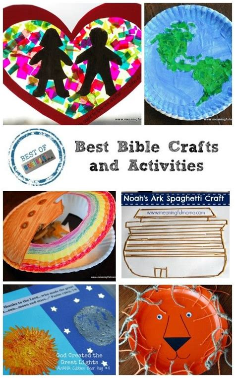 bible craft projects best bible crafts at meaningful werkjes