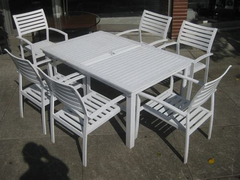 modern outdoor ideas metal patio dining sets set table