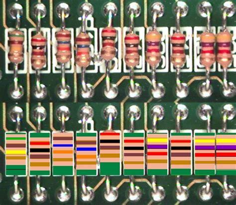 resistors for color blind resistors color blind 28 images standard resistor color 28 images mechatronics tutorial