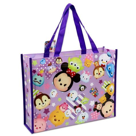 Disney Tsum Tsum Tote Bag Pink 3 disney tsum tsum tote bag purple