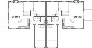 Two Bedroom Duplex Floor Plans by One Story Duplex House Plans 2 Bedroom Duplex Plans