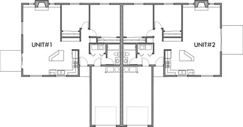 2 bedroom duplex floor plans one story duplex house plans 2 bedroom duplex plans