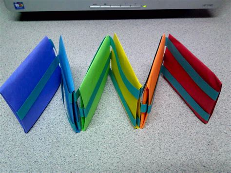 Origami Ladder - origami jacob s ladder by theorigamiarchitect on deviantart