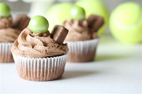 Australian Open Sweepstakes - recipe tim tam chocolate ganache cupcakes see vanessa craft