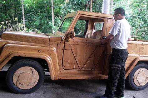 modifikasi kendaraan modifikasi kendaraan dengan kayu lokal bali balipost