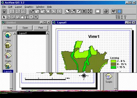 fungsi layout pada arcview arcview gis ryanflyway s blog