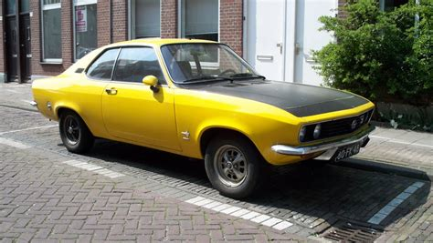 1975 opel manta 1975 opel manta information and photos momentcar