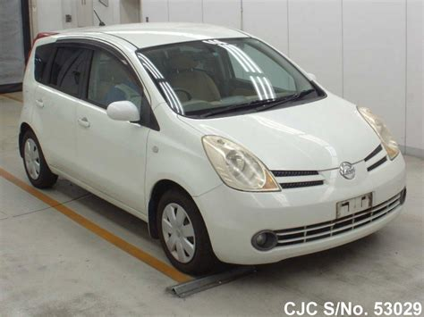 nissan note 2005 2005 nissan note white pearl for sale stock no 53029