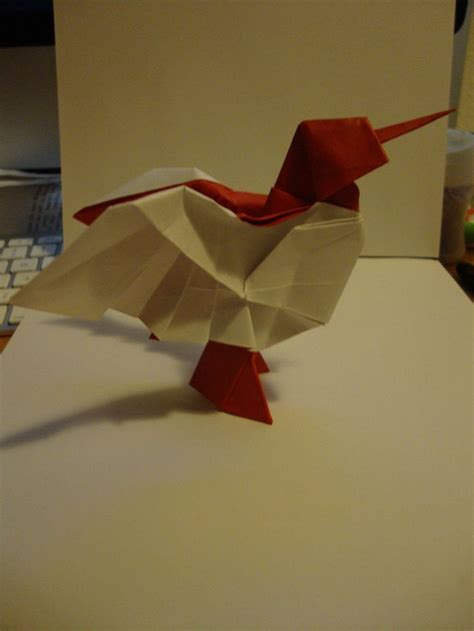 Origami Hummingbird Tutorial - 23 best images about origami on valentines