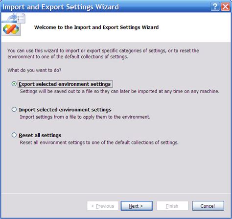 how reset visual studio settings how to how to backup and restore visual studio settings