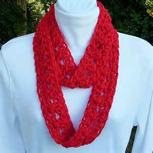 Infinity Scarf Summer Summer Infinity Scarf Bright Lipstick Solid Soft