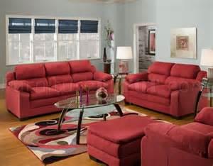 wine microfiber sofa loveseat set w optional chair ottoman