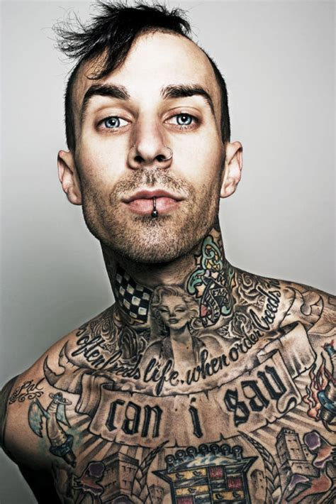 travis barker tattoos travis barker pics photos pictures of his tattoos