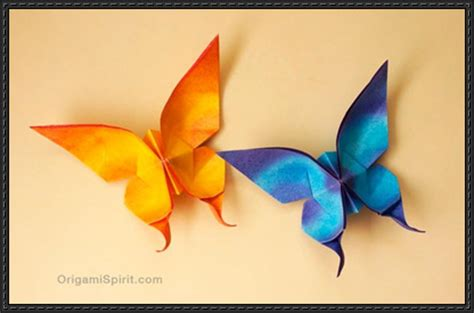 How To Fold Paper Butterfly - papercraftsquare